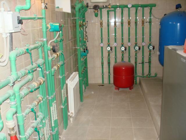 Система отопления, Монтаж системы отопления
